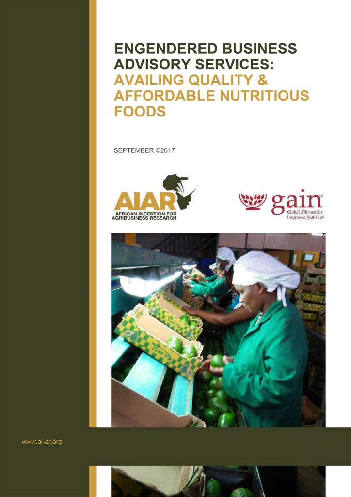 Book Cover: AIAR-GAIN Business Advisory